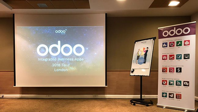 Talk from Odoo 11 tour